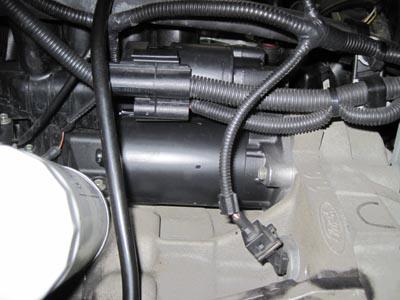 フォード フォーカス セルモーター交換_e0169210_9571149.jpg