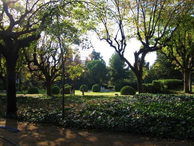 ペドラルベス宮の散歩  Paseo in el Palau de Pedralbes_b0064411_7312232.jpg