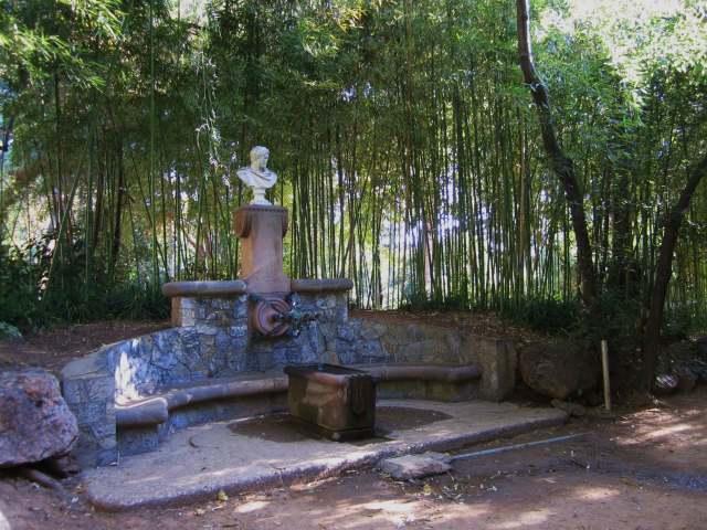 ペドラルベス宮の散歩  Paseo in el Palau de Pedralbes_b0064411_7343346.jpg