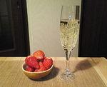 シャンパン&イチゴ