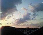 冬の朝陽1