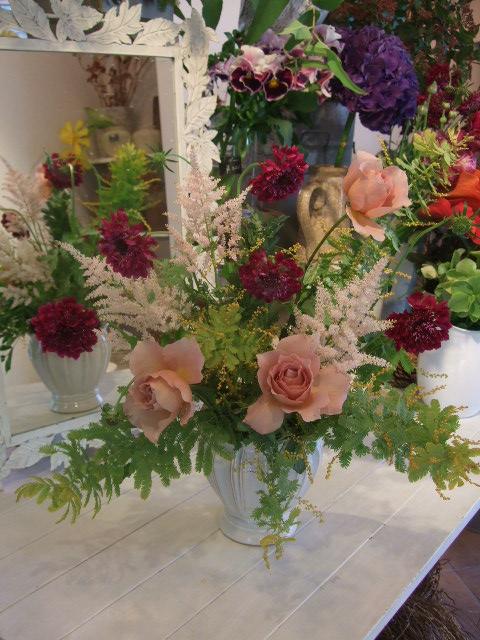 オークリーフ花の教室(松崎さんの作品)_f0049672_15513456.jpg