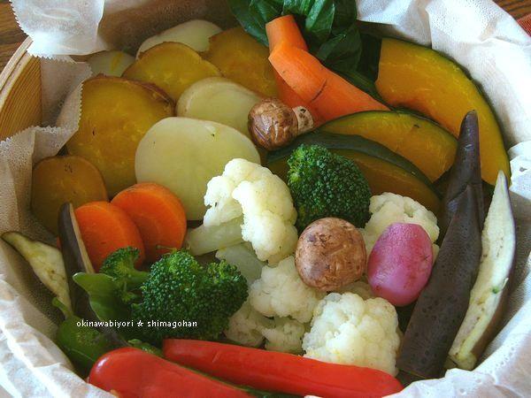 GABANスパイスドレッシングで 温野菜サラダ♪_c0139375_15181362.jpg