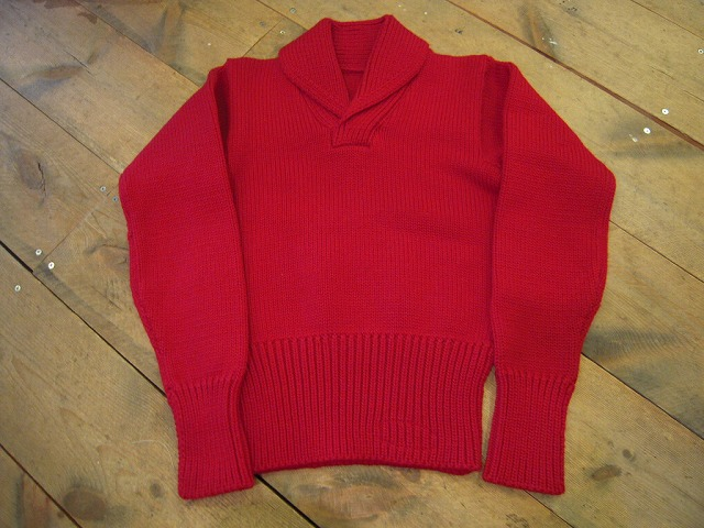 ショールカラーセーター。_d0121303_1421162.jpg