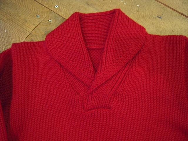 ショールカラーセーター。_d0121303_14212285.jpg