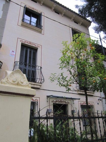キンタアメリア公園近くの町並み Casas de la calle d\'Ifni_b0064411_703922.jpg