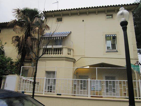 キンタアメリア公園近くの町並み Casas de la calle d\'Ifni_b0064411_715832.jpg