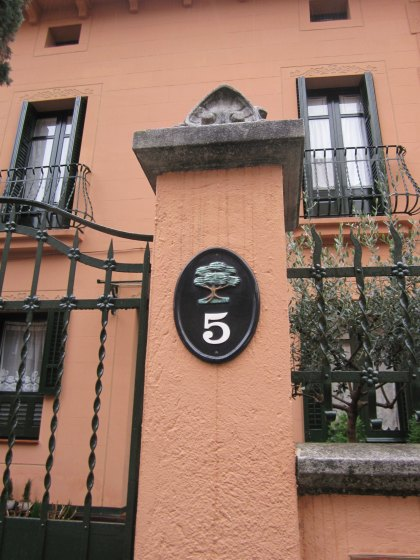 キンタアメリア公園近くの町並み Casas de la calle d\'Ifni_b0064411_752713.jpg
