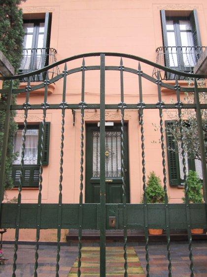 キンタアメリア公園近くの町並み Casas de la calle d\'Ifni_b0064411_755158.jpg