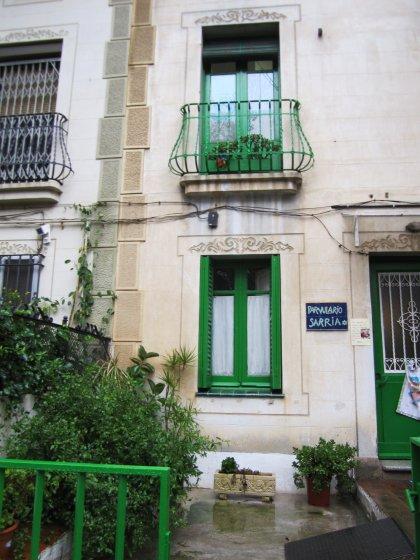 キンタアメリア公園近くの町並み Casas de la calle d\'Ifni_b0064411_765670.jpg
