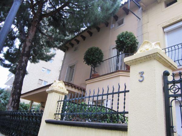 キンタアメリア公園近くの町並み Casas de la calle d\'Ifni_b0064411_772623.jpg