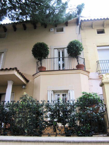 キンタアメリア公園近くの町並み Casas de la calle d\'Ifni_b0064411_783763.jpg