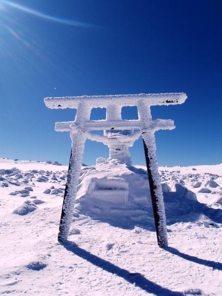 蓼科山の山頂から_c0177814_20205099.jpg