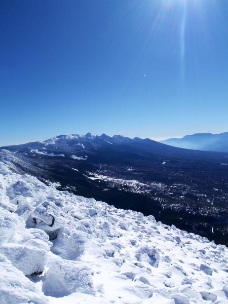 蓼科山の山頂から_c0177814_202231.jpg