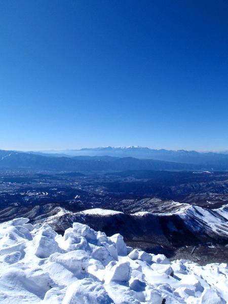 蓼科山の山頂から_c0177814_20265623.jpg