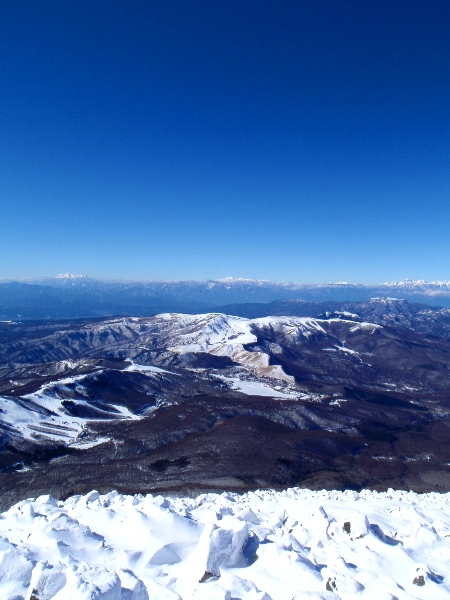 蓼科山の山頂から_c0177814_20281019.jpg