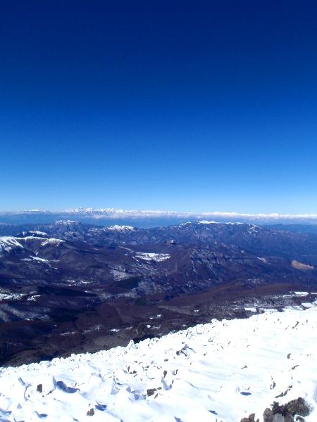 蓼科山の山頂から_c0177814_20323328.jpg
