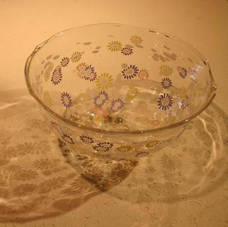 手吹きガラスの手洗いボール_e0074935_1753177.jpg