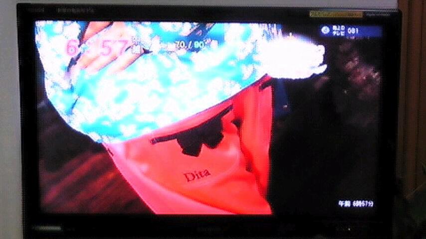 ディタ×目覚ましテレビ_c0151965_16313543.jpg