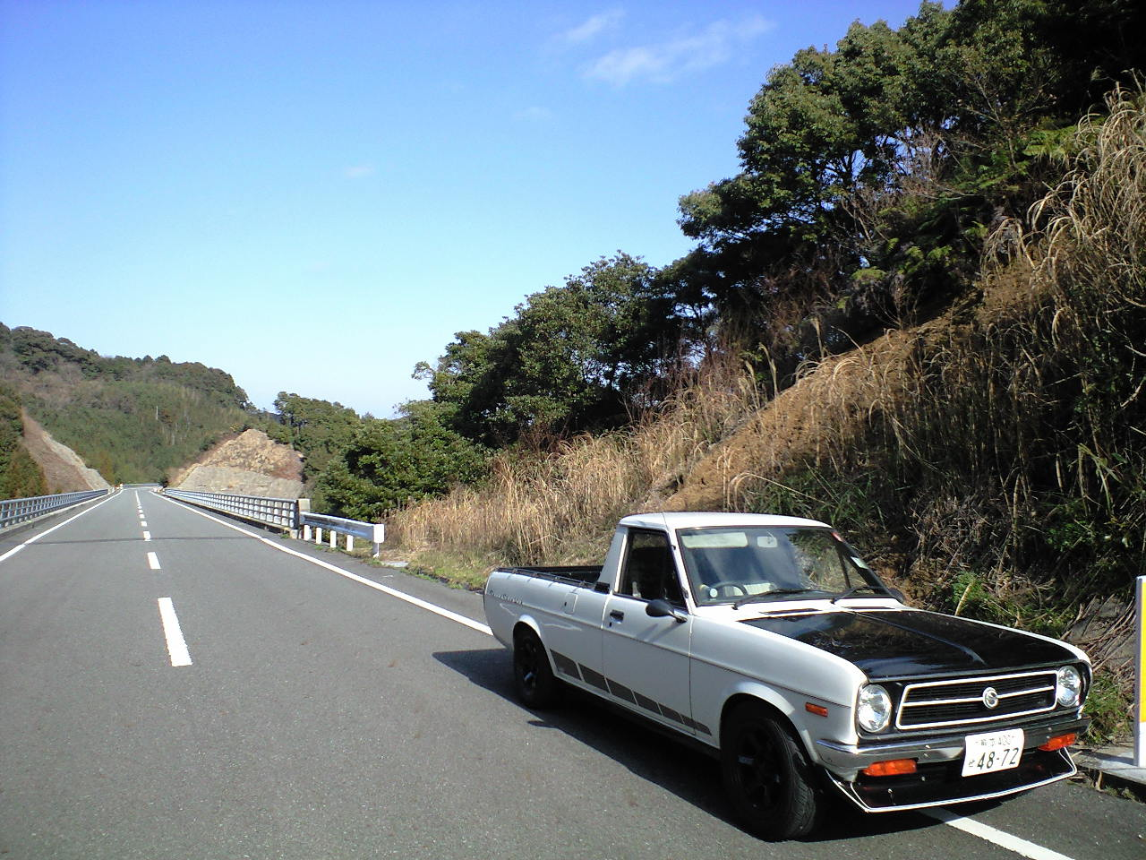 THANK YOU SOLD! DATSUN sunny truck_f0102876_15302065.jpg