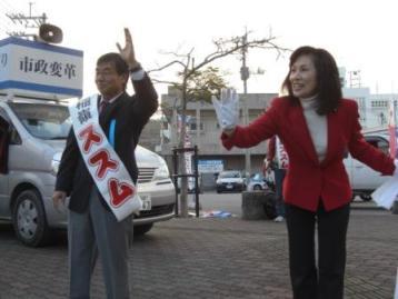 名護市長選・稲嶺さん当選―辺野古の海を守る_f0150886_1018317.jpg