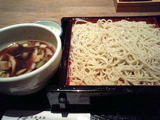 お蕎麦〜♪_d0101514_0255556.jpg