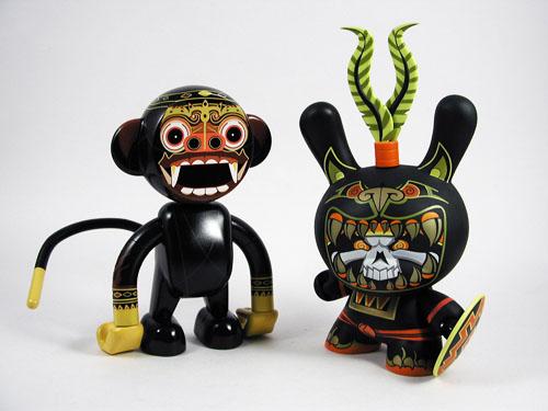 Le Labのお猿さん、発売前に8インチ・ダニーと大きさ比較。_a0077842_0225948.jpg