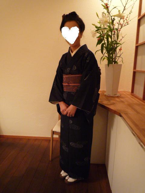 加藤ますえさんの着こなし・静華の杏仁豆腐。_f0181251_18442426.jpg