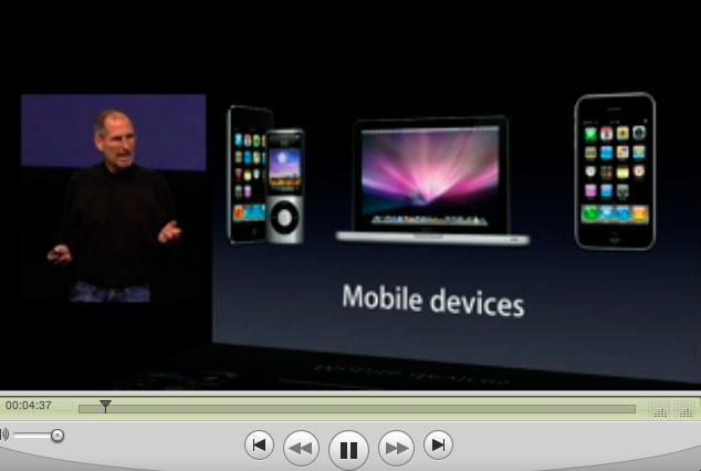 アップルのスティーブジョブズ氏の講演を聴いています_a0031363_6342484.jpg