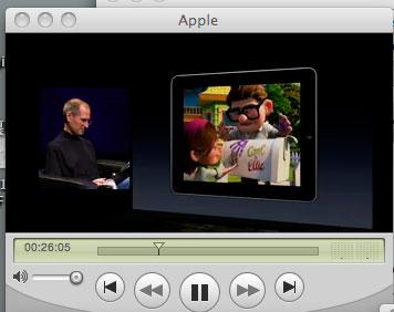 アップルのスティーブジョブズ氏の講演を聴いています_a0031363_6353117.jpg