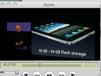 アップルのスティーブジョブズ氏の講演を聴いています_a0031363_635634.jpg