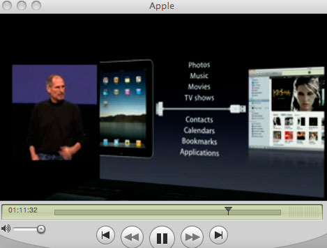 アップルのスティーブジョブズ氏の講演を聴いています_a0031363_637398.jpg