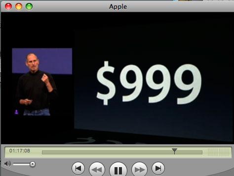 アップルのスティーブジョブズ氏の講演を聴いています_a0031363_638454.jpg