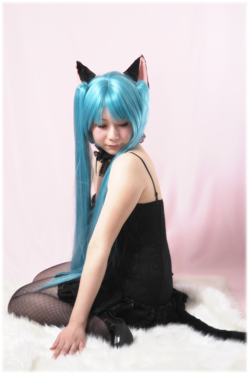 黒猫耳のオリジナルVer 1_f0021869_23393247.jpg