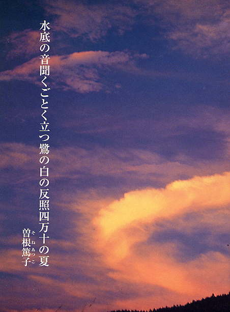 第52首 曽根篤子 (愛媛県) _e0190619_1335419.jpg