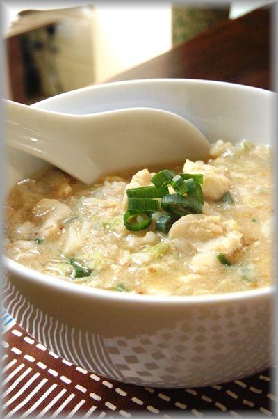 受験生頑張れレシピ。少しだけ手間をかけるだけで2倍身体に優しい柔らか鶏雑炊に!(レシピ付)