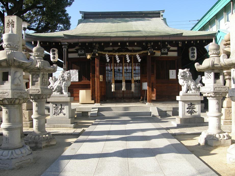 神社を訊ねて その12 須佐之男尊神社(通称)関目神社     関目高殿_c0118393_1647936.jpg