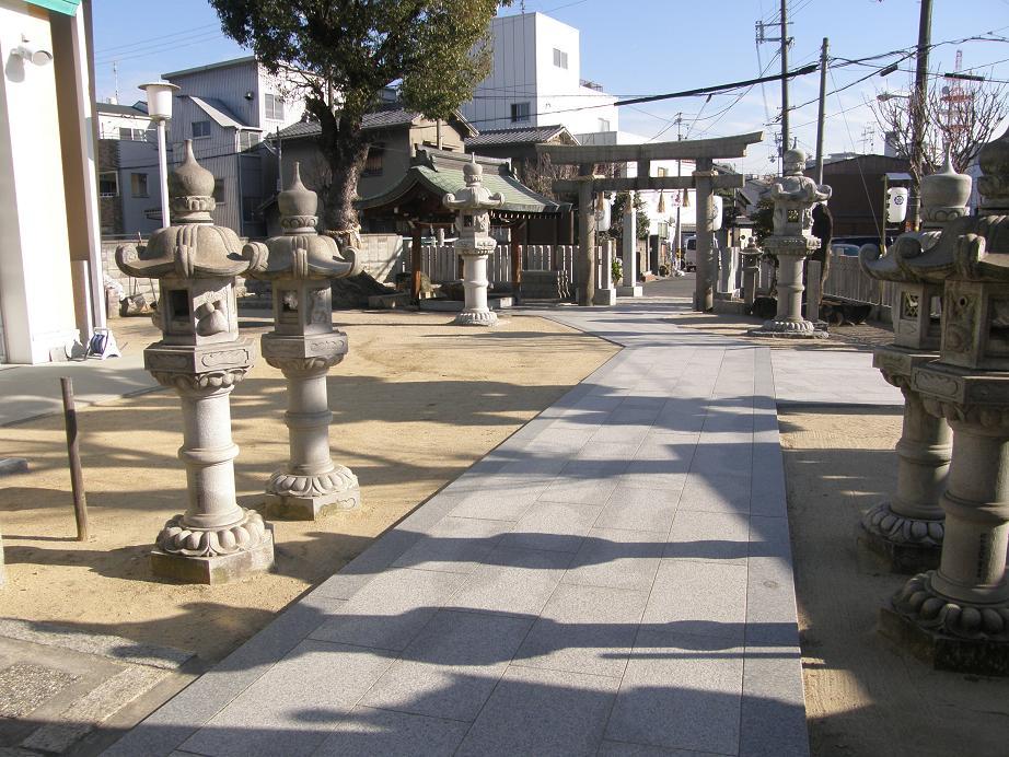 神社を訊ねて その12 須佐之男尊神社(通称)関目神社     関目高殿_c0118393_176072.jpg