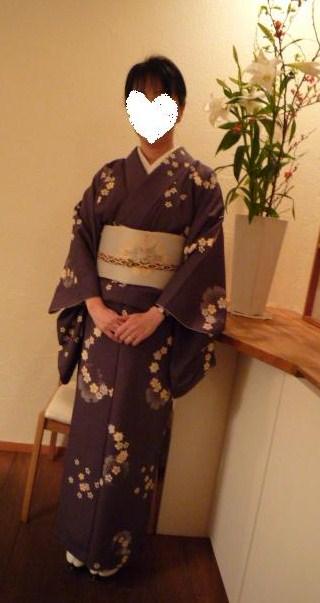 京 静華のお食事会へは螺鈿の帯で。_f0181251_16114688.jpg