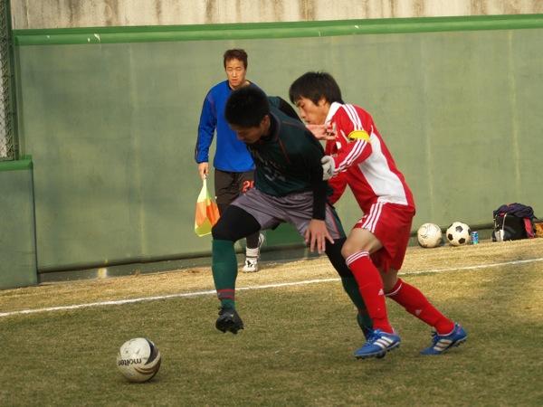 練習試合vs新宿FC_a0109270_20372730.jpg