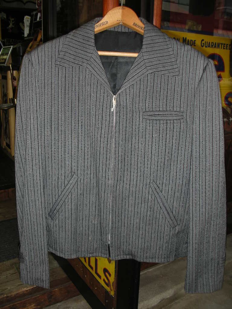1940\'S WOOL BLANKET SPORT JACKET_c0187684_2223781.jpg