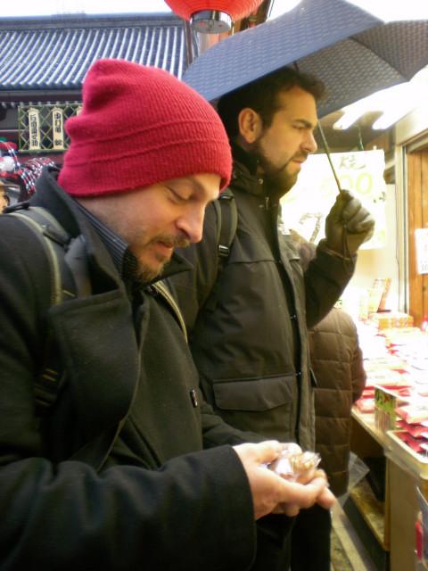 イタリア人・・・東京散策編_c0179785_4115272.jpg