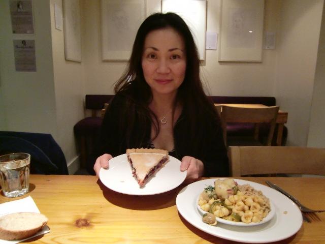 ひいた風邪と寒い週末の始まり レストランに行く_c0027188_4555241.jpg