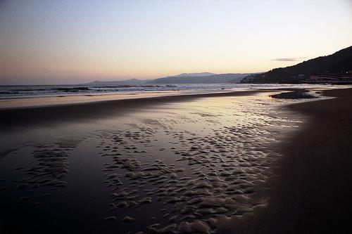 Dusk Time Shore