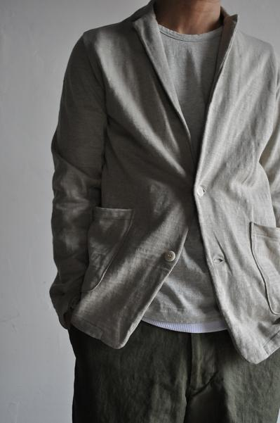 STILL BY HAND Cut and Sewn 2B-Jacket