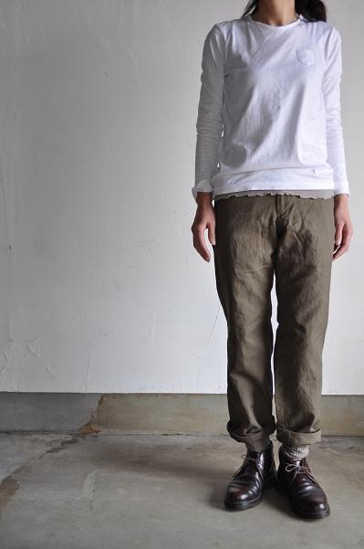 gauche / ゴーシュ Small Pocket-Long-Sleeves