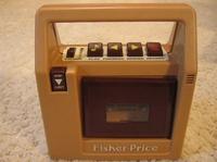 フィッシャープライスのカセットテープレコーダー