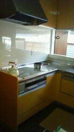 キッチンのリフォームが完了!_a0167735_198506.jpg