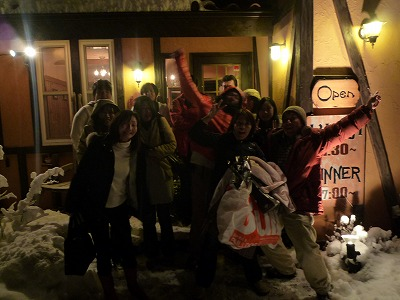 大雪の中 送別会 【Chef\'s Report】_f0111415_0123011.jpg