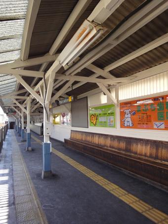 東急大井町線旗の台駅の木造ホーム_c0195909_21333654.jpg